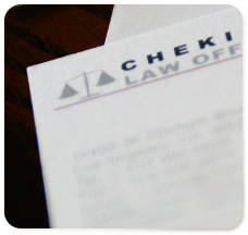 Chekian Law :: Logo & Stationary